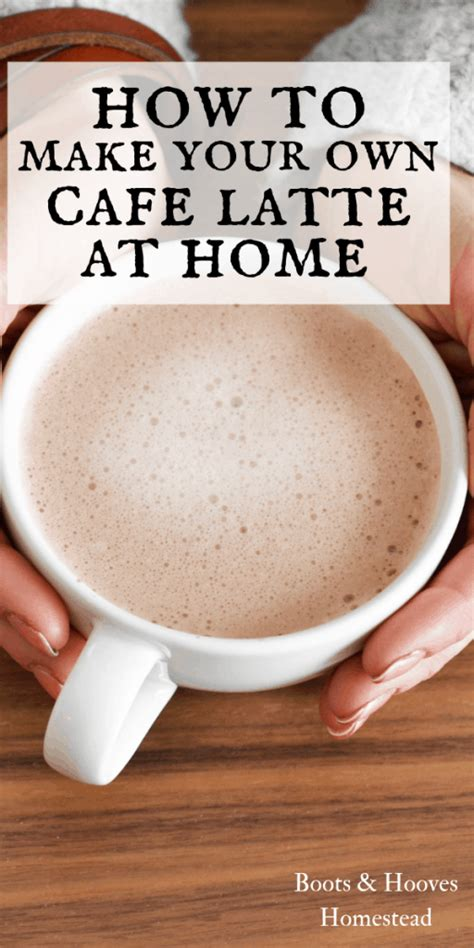 Then pour mixture through a coffee filter or cheesecloth to strain the grounds from the mixture, so you are left with a pure clean cold brewed coffee. How to Make Homemade Lattes - Boots & Hooves Homestead