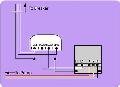 Deep Well Wiring Control Box Pressure Switch