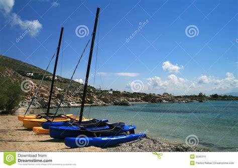 Catamaran Boat Images by Catamaran Sail Boats Stock Image Image 5040111