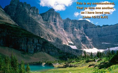 He has made everything beautiful in its time. Scenery Wallpaper: Scenic Wallpaper With Bible Verses