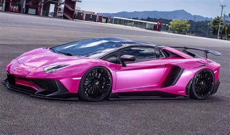 Liberty Walk Unleashes Pink Wide Body Lamborghini Aventador Sv