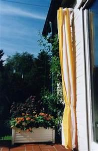 Segeltuch Für Balkon : sonnensegel senkrecht als sichtschutz f r balkon und terrasse ~ Markanthonyermac.com Haus und Dekorationen