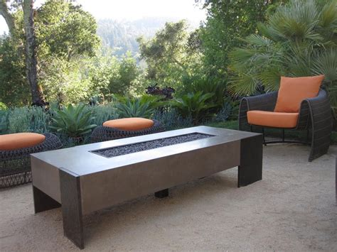 sumptuous gel fuel fireplacein patio contemporary with