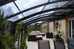Veranda Verriere : veranda retractable pour terrasse ~ Melissatoandfro.com Idées de Décoration