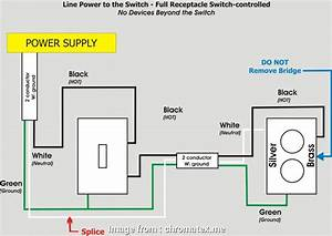 Wiring A Split Switched Outlet Top Wiring Diagram  To Wire