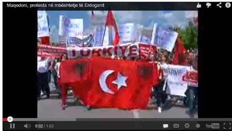 Maqedoni, Protesta Në Mbështetje Të Erdoganit