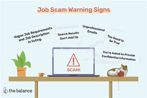 top  job scam warning signs