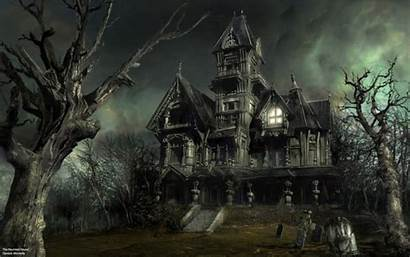 Halloween Spooky Haunted Flare