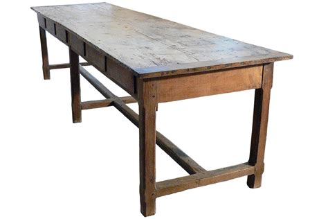 long antique french farm table table pinterest
