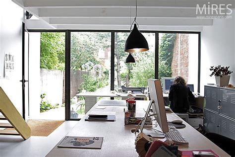 bureau atelier baie vitree industrielle meilleures images d 39 inspiration