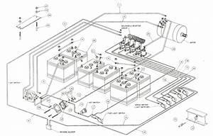 Ez Go Golf Cart 36 Volt Wiring Diagrams