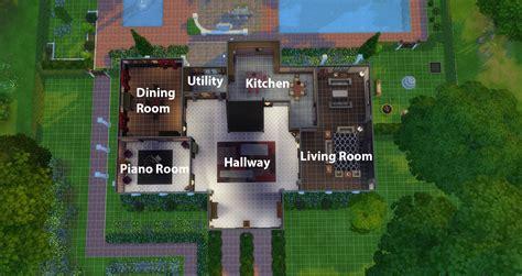 mod  sims  mansion castle lane  bedroom  bathroom mansion