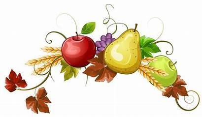 Autumn Clipart Fruit Decoration Fruits Cliparts Clip