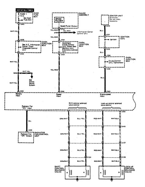 acura legend 1990 wiring diagram transmission