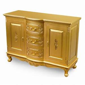 Schrank 120 Cm : gold kommode schrank 120 cm rokoko barock ~ Markanthonyermac.com Haus und Dekorationen