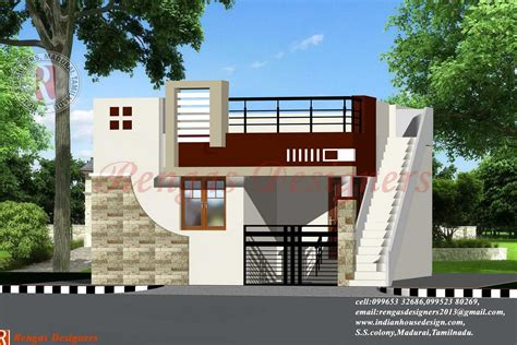 simple homes with balconies placement indian house design single floor designs building plans