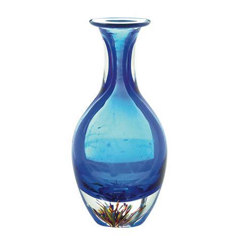 Unique Glass Vases by Deco Vase Table Centerpiece Contemporary Blue