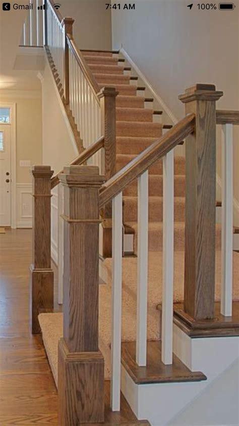 Stair newel posts   Stair newel post, Stair newel posts ...