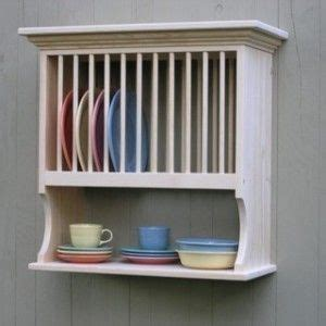 images  wooden wall plate racks  pinterest open shelving shabby chic  cabinets