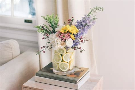 You Place The Flowers In The Vase by Why Do Put Lemons In A Vase With Flowers Two
