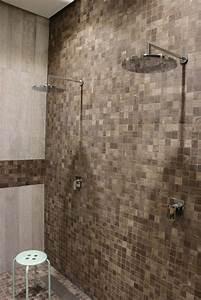 Badezimmer Fliesen Ideen Mosaik : pin von franke raumwert auf fliesen in natursteinoptik ~ Watch28wear.com Haus und Dekorationen