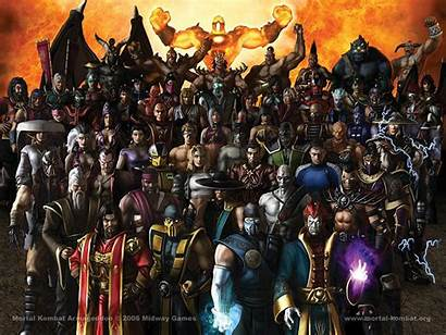 Mortal Kombat Armageddon Characters Wikia