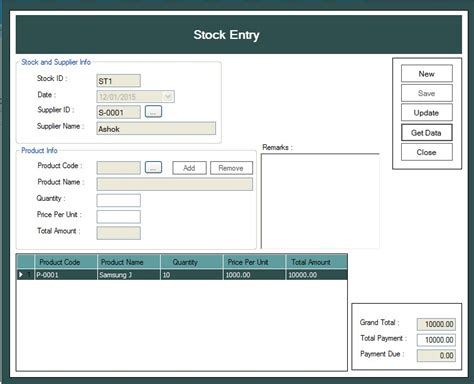 Sales and inventory system thesis