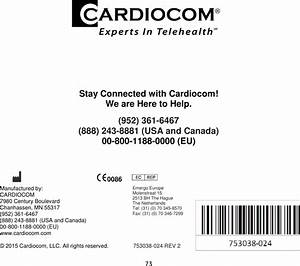 Medtronic Care Management Services Cd320 Cd320 Commander