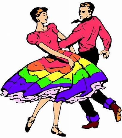 Dance Clipart Partner Dancing Square Dancers Researchers