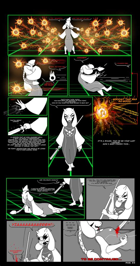 Asriel Synth Undertale Au Comic Pag  By Htecore On