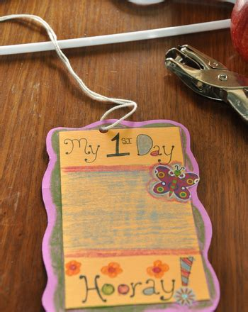 day of school craft activity education 516 | first day school mobile slide