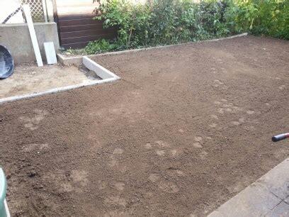Garten Eben Machen by Rasenneuanlage Gartenpflege Friedberg De