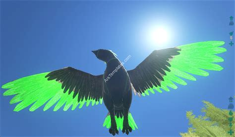 ark paint templates green tipped argentavis ark templates