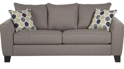 Gray Sleeper Sofa by Bonita Springs Gray Sleeper Sofa Transitional Textured