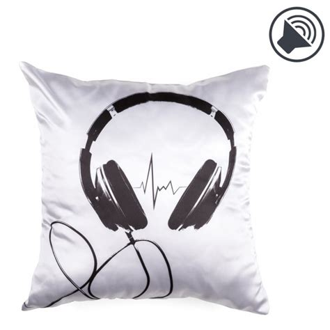 Cuscino Musicale - cuscino musicale con speaker imusic pillow quadrato