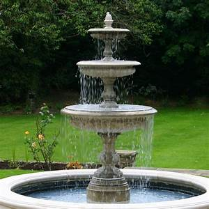 Medium, Three, Tier, Vermeer, Garden, Fountain