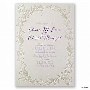 disney flowing vines invitation rapunzel invitations by dawn With disney wedding invitations online
