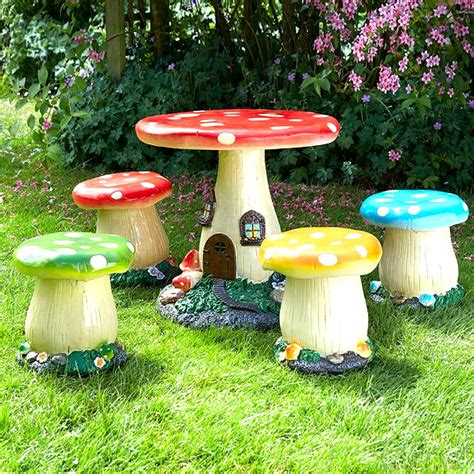 children s patio furniture brundle mushroom kids furniture set on sale fast 11113 | Hi Mushroom Kids Furniture Set