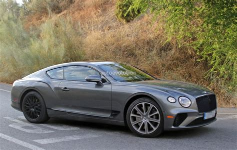 2019 Bentley Gt by 2019 Bentley Continental Gt Speed Spied With Black Grille