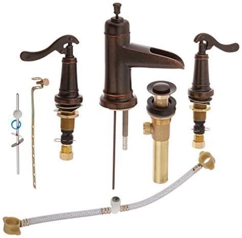 Rustic Bronze Bathroom Faucets by Pfister Ashfield 2 Handle 8 Quot Widespread Bathroom Faucet