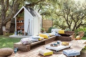 Salon De Jardin En Palette Moderne : abri de jardin 10 mod les qu 39 on aime c t maison ~ Melissatoandfro.com Idées de Décoration