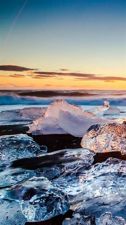 4k Wallpapers Ice Iphone Smartphone Phone Mobile