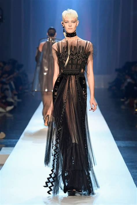 jean paul gaultier fall  couture collection tom