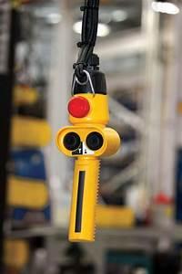 1 Ton Electric Chain Hoist Two Speed Street Lx Series - Jib Cranes