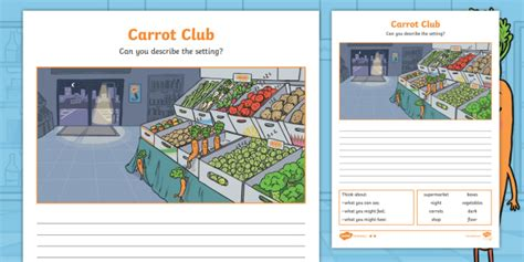 * New * Carrot Club Setting Description Differentiated Activity