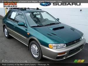 Sport 2000 Gray : acadia green metallic 2000 subaru impreza outback sport wagon gray interior ~ Gottalentnigeria.com Avis de Voitures