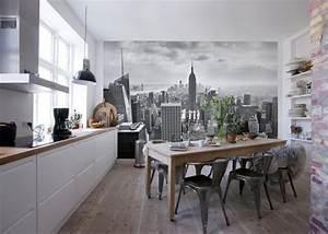 Welche Tapete Für Küche : tapeten f r k che 23 frische ideen esszimmer innendesign zenideen ~ Markanthonyermac.com Haus und Dekorationen