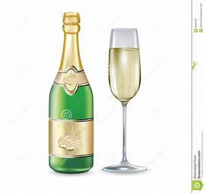 Bilder Auf Glas Gedruckt : sektflasche und glas auf wei vektor abbildung illustration von cabernet schn pse 36565787 ~ Indierocktalk.com Haus und Dekorationen