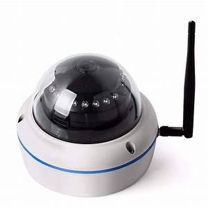 Camera Surveillance Exterieur Wifi : mini cam ra d me wifi pour l 39 ext rieur et l 39 int rieur ~ Melissatoandfro.com Idées de Décoration