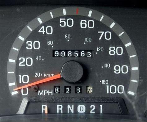 high kilometers mileage    car